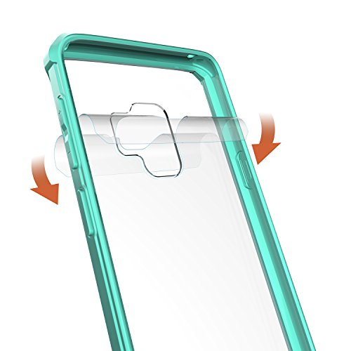 low-cost Galaxy S9 Case, XRPow Crystal Clear Slim