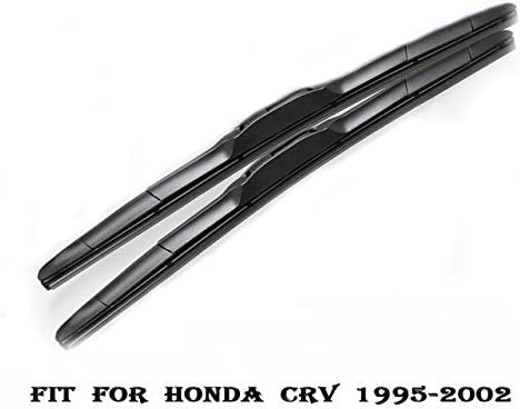 "Honda CR-V 1995-2002 Front Windscreen Wiper Blades 19/"" 19/"" Set"