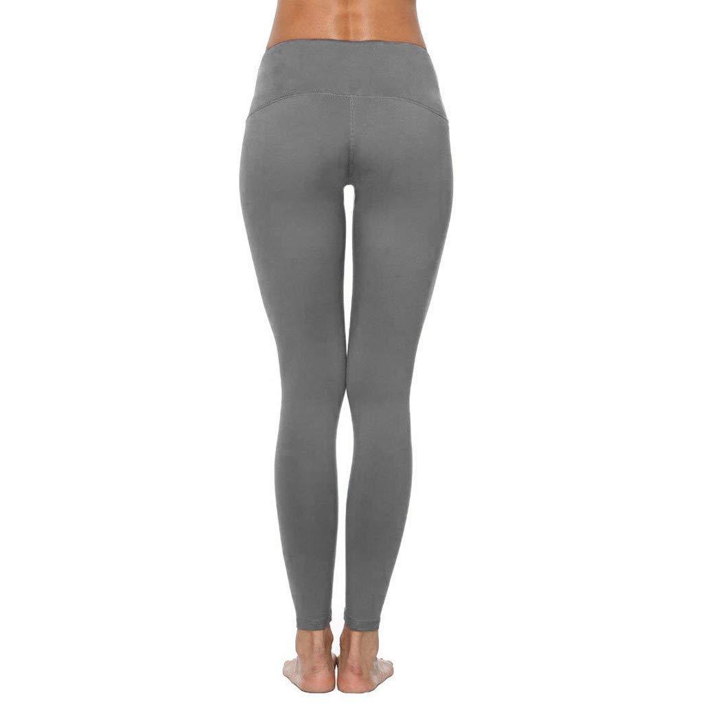 Donna Stampa da Corsa Pantaloni Attillati Ginnastica Pantaloni Leggins Sportivi Donna Cuore Leggings Push Up Pantaloni Donna Estivi Eleganti Leggeri TTMall Leggings Pantaloni di Yoga Donne