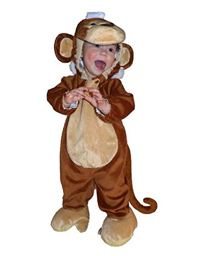 [Totally Ghoul Plush Monkey Jumper Baby Halloween Costume (6-12 Months)] (Well Thought Out Halloween Costumes)