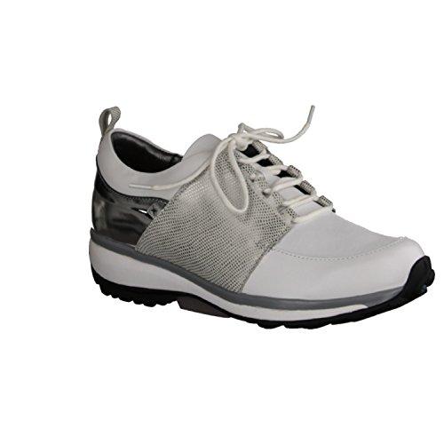 XSENSIBLE - Zapatos de cordones de Piel para mujer blanco Weiß