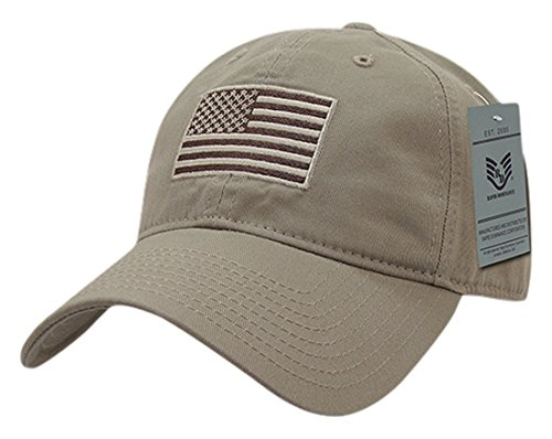 Olive USA US American Flag Tactical Operator Mesh Flex