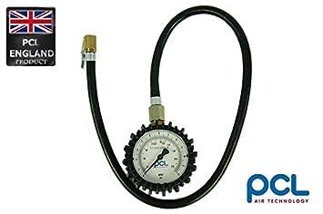 1 pieza Aire – Tensiómetro con manómetro de la marca PCL dpg1h08/manguera 63 cm
