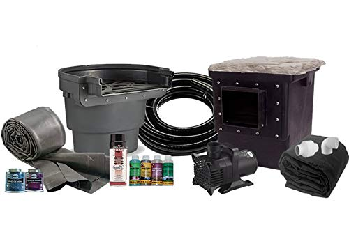 Kit Pond American (American Pond Large 11' x 11' Pond Kit Professional Series Energy Saving)