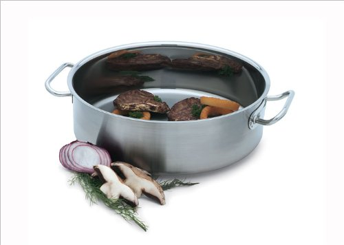 Vollrath 47760 Intrigue S/S Mirror Finish 12 Quart Brazier by Vollrath