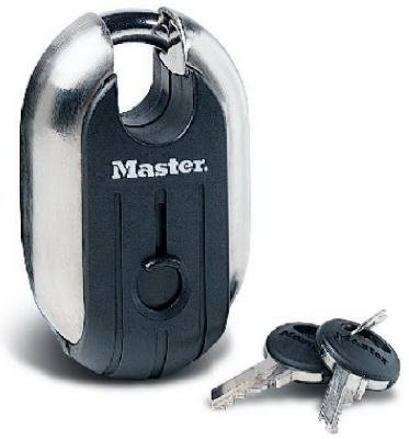 Master Lock 187XD 2-7/16 Inch Titanium Tough Reinforced Shrouded Padlock