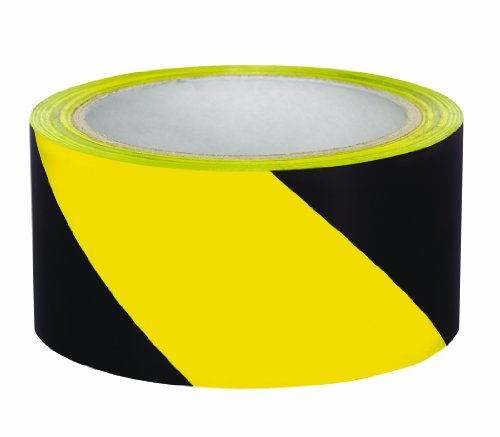 Swanson AMT18Y 2-Inch by 54-Feet Stripe Adhesive Safety Floor Tape, Yellow/Black