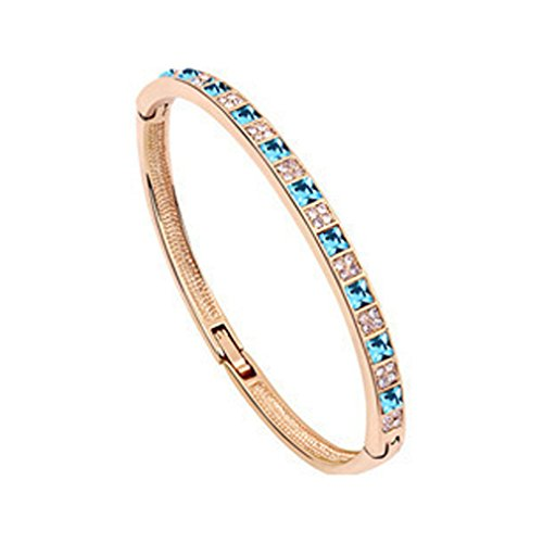 [LOMOL Womens Fashion Retro Elegant Personality Charm Shining Alloy Crystal Bracelets(C3)] (Egyptian Woman Costume Uk)