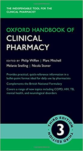 Kết quả hình ảnh cho Oxford Handbook of Clinical Pharmacy amazon
