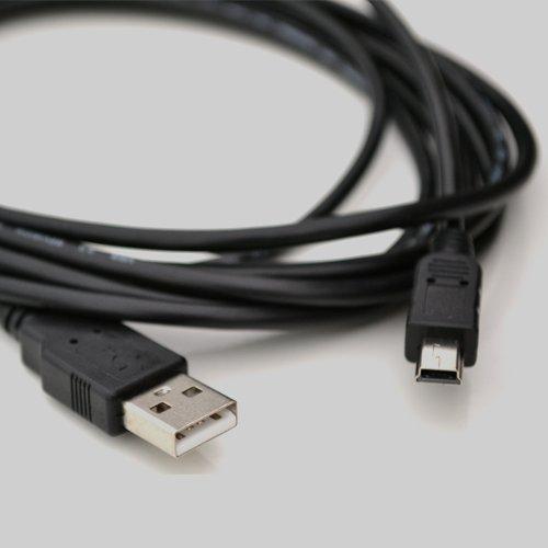 m-one 1.5Meter 5ft Lange Mini USB Power Lade Daten Kabel Für-Navigon GPS SatNav-1200/1210/1300/1310/2100/2110/2200/2150max/2310/3300max/3310max/4310max/4350max/7310/8110/43Max/33MAX 23/23er/13/13er/7210/20Plus/40Easy/40Plus/40Premium.-SAT NAV/Auto GPS Navigation System