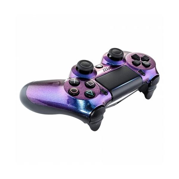 OC Gaming PS4 Dualshock Playstation 4 Controller Custom Soft Touch New Model JDM-040 (Chameleon) 4