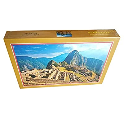 Pikolai Puzzle Games - Machu Picchu Jigsaw Puzzles 1000 Piece Puzzles for Kids Adults 30 x 20 inch, Large Puzzle, Vintage Landscape Jigsaw Puzzle: Toys & Games