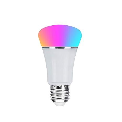 YWUAEN LEGELITE LED Bombilla Inteligente, E27 7W WiFi Bombillas Inteligentes 2700K a 6500K Regulable y