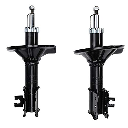 YH New Front Left Right Shock Absorber Assembly Fit For Mazda-626 1998-2002 All 2pcs/Set Monroe 71595 71596 Gas Strut Shock Absorber Shock Absorber Suspension Kit