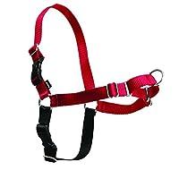 PetSafe - Arnés para caminar fácil, pequeño /mediano, ROJO /NEGRO para perros