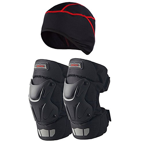Scoyco K15-2 Motorcycle Motocross Racing Knee Guards Pads Braces Protective (Gear Brace)