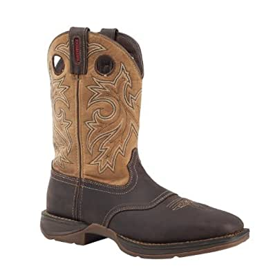 "Rebel by Durango Men's 11"" Steel Toe Waterproof Western Boot-DB019 (M7)"