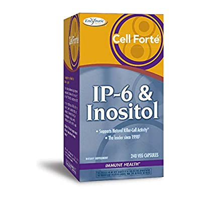Enzymatic Therapy Cell Forte IP-6 & Inositol, gluten-free - 240 vegetarian capsules