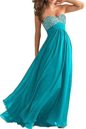 Herzformig mia Blau Abendkleider Abschlussballkleider Steine Festlichkleider Partykleider Lang A Blau La Linie Ballkleider Braut tEdWEq