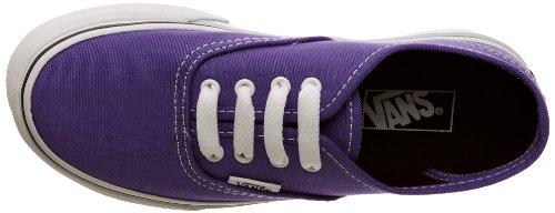 Blk Sneaker black Unisex passion Canvas Authentic Vans T Viola Flower Bambino ZFHwxFqpEn