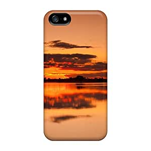 Cute Appearance Covers/pIQ62334MUqL Sunset Reflections Cases For Iphone 5/5s
