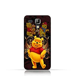 Samsung Galaxy S Duos TPU silicone Protective Case with Winnie the Pooh Design