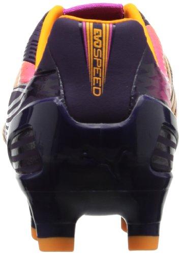 Puma evoSPEED 2.2 FG - Zapatos de fútbol de material sintético hombre Violett (blackberry cordial-fluo orange-fluo pink 02)