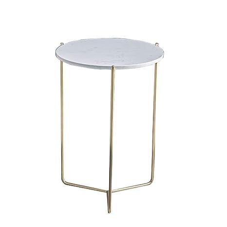 Amazon.com: Mesa auxiliar de sofá Jolly, mesa redonda de ...