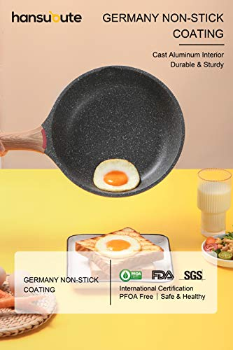 Hansubute-Nonstick-Induction-Granite-Stone-Frying-Pan-with-Soft-Touch-HandleChildren-Protection-Function8inch