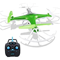 Hohaski JJRC H97 RC Quadcopter | 2.4GHz, 4CH 6-Axis, LED,with Camera Mini Drone (Green)