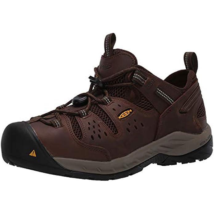KEEN Utility Men's Atlanta Cool 2 Low Soft Toe ESD Non Slip Work Shoe