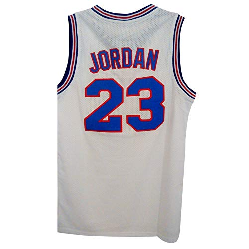 QIMOUSE 23# Space Jersey Squad Basketball Halloween White S -