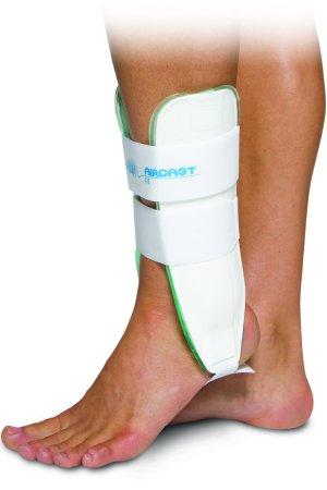 (Aircast 02DL Sports Stirrup Ankle Brace, Left, 9