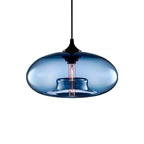Hanging Glass Ball Pendant Light - 3