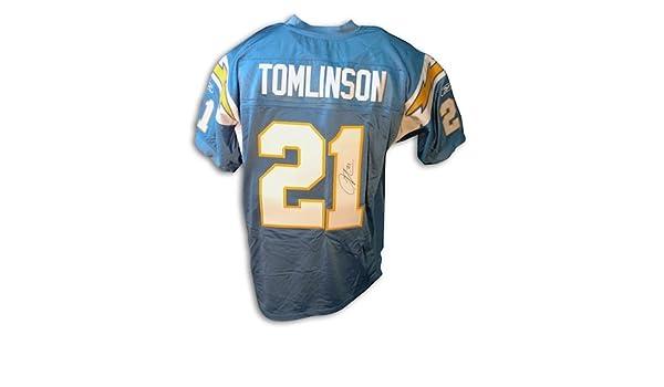 6c5cc817 Autographed LaDainian Tomlinson San Diego Chargers Powder Blue ...