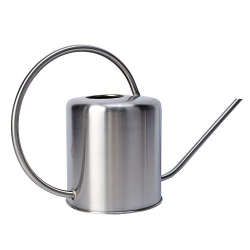 Metal Pot Waterer (Asvert Stainless Steel Watering Can (50 oz))