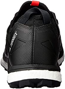 adidas Australia Men's Terrex Agravic XT GTX Trail Running Shoes, Core BlackGreyHi Res Red