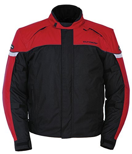Tourmaster Jett 3 Red Black Jacket size X-Large by Tourmaster