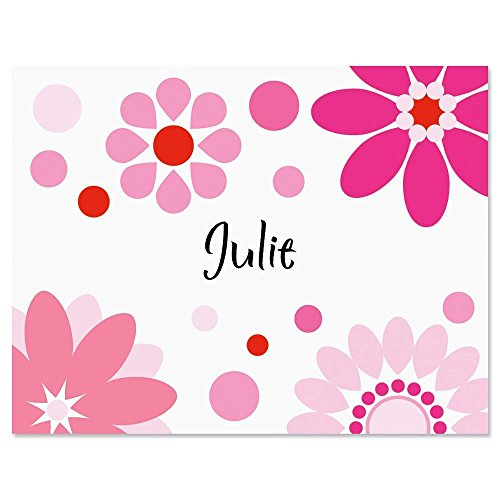 Daisy Kids Personalized Note Card Set - 24 cards with envelopes