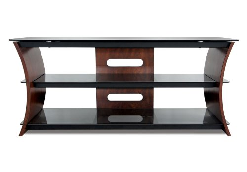 Bell'O CW356 56' TV Stand for TVs up to 60', Caramel Brown