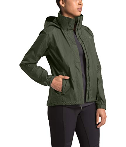The North Face Women's Resolve 2 Jacket New Taupe Green X-Large (Best Stylish Rain Jacket)