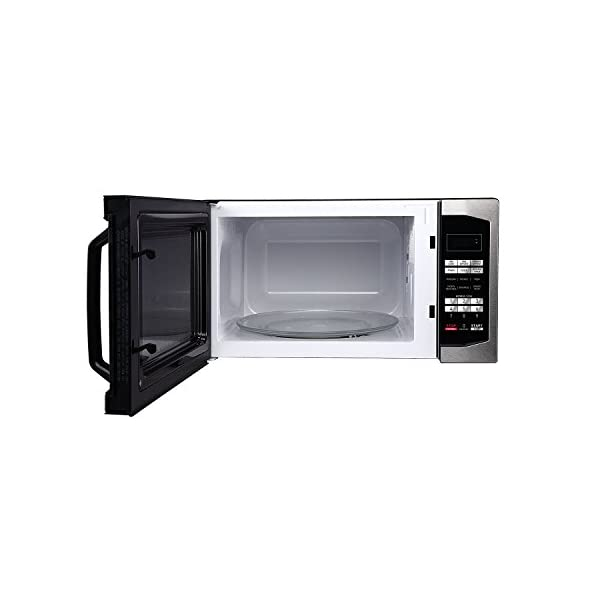 Magic Chef MCM1611ST 1100W Oven, 1.6 cu.ft, Stainless Steel Microwave 4