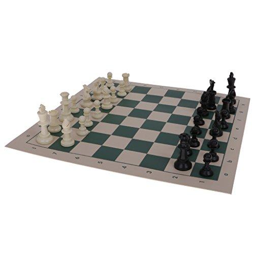 【ノーブランド品】 携帯型 旅行 チェスセット マット 国際チェス チューブシェイプ ボックス付きの商品画像