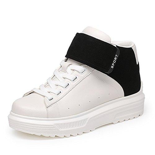 Zapatos deportivos de Dama caída/Zapatos altos de tacon/ Versión coreana de pisos de Ballet de entonado de colores B