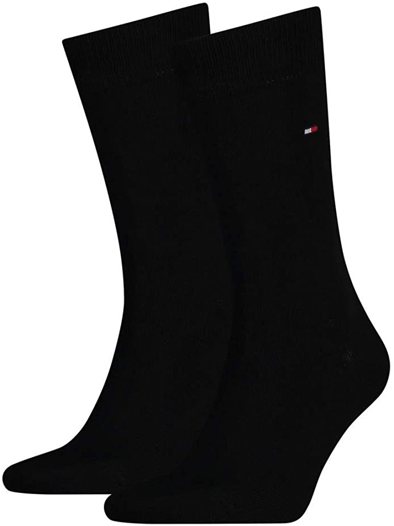 Tommy Hilfiger Classic – Calcetines para hombre, 4 pares