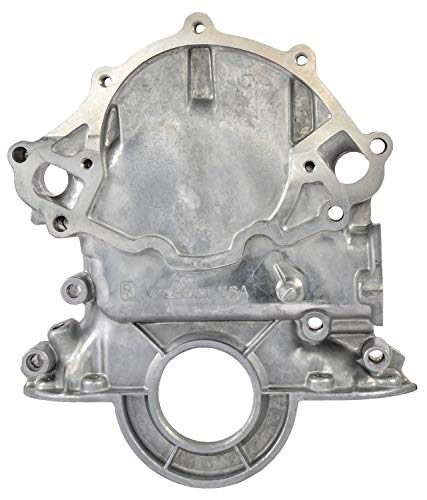 JEGS 50304 Timing Cover for 1965-1966 Small Block Ford 289 351W Cast Aluminum In