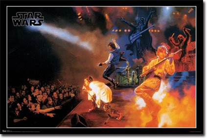 Star Concert Movie Poster Print product image