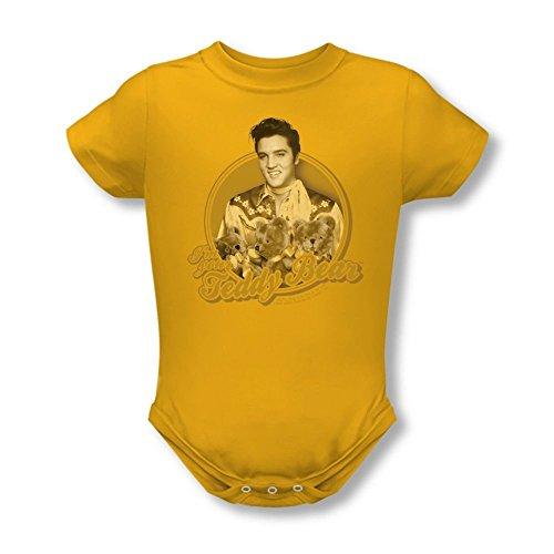 Elvis Presley Teddy Bear Baby Onesie 6m (Elvis Onesie)