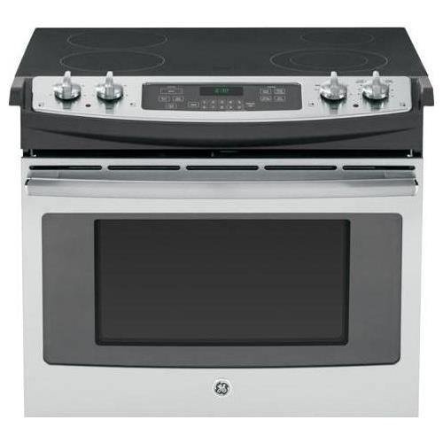 GE JD630SFSS 30″ Stainless Steel Drop-In Electric Smoothtop Range