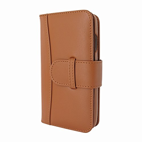 Piel Frama 793 Tan WalletMagnum Leather Case for Apple iPhone X by Piel Frama (Image #1)